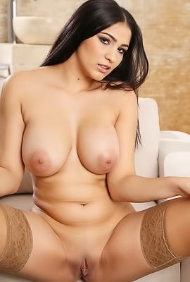 Ava Black Presents Big Soft Tits And Ample Ass And Perfect Lips