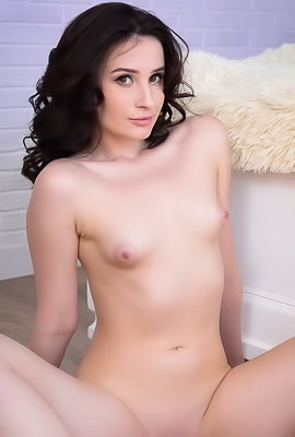 Rada - Playful babe boasts about her totally naked body